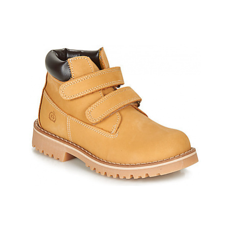 Citrouille et Compagnie LIMINOTE boys's Children's Mid Boots in Brown