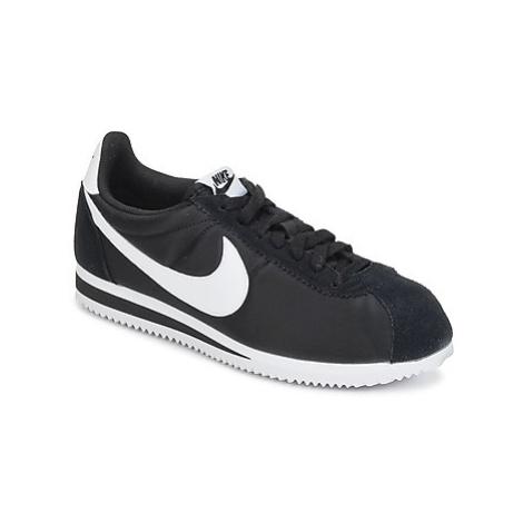Nike CLASSIC CORTEZ NYLON men's Shoes (Trainers) in Black