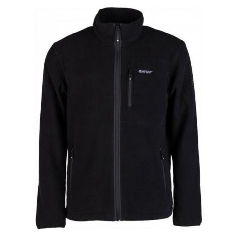 Hi-Tec PORTO black - Men's fleece sweatshirt