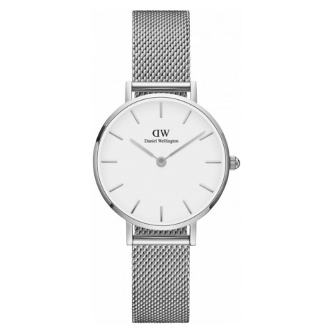 Ladies Daniel Wellington Classic Petite 28 Sterling White Watch DW00100220