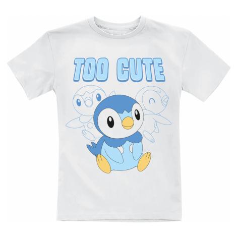 Pokémon - Piplup - Too Cute - Kids shirt - white