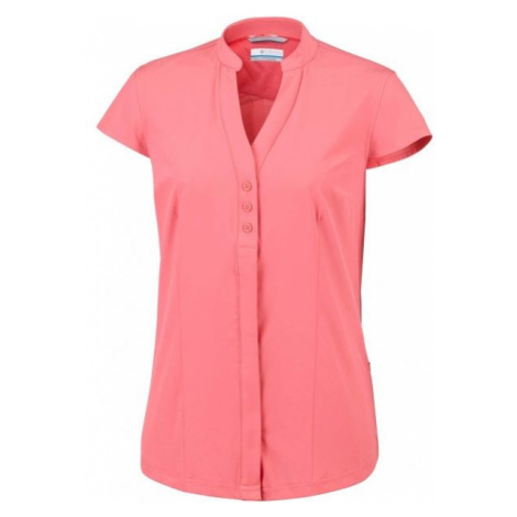 Columbia SATURDAY TRAIL STRETCH SS SHIRT pink - Women's short sleeve shirt