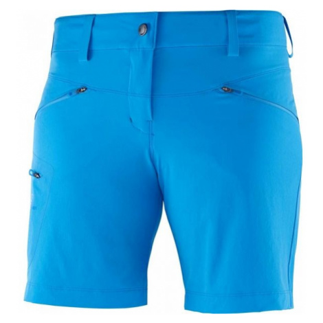 Salomon WAYFARER SHORT W blue - Women's outdoor shorts