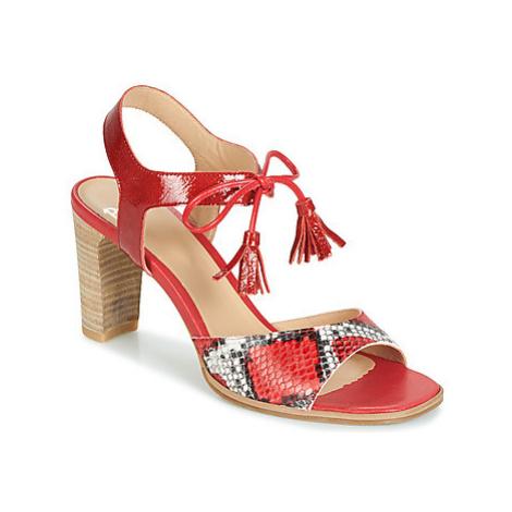 Perlato RUBY women's Sandals in Red
