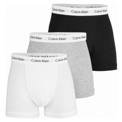 Calvin Klein 3P TRUNK white - Men's boxer briefs