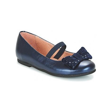 Garvalin GARDEN VITELLO girls's Children's Shoes (Pumps / Ballerinas) in Blue Garvalín