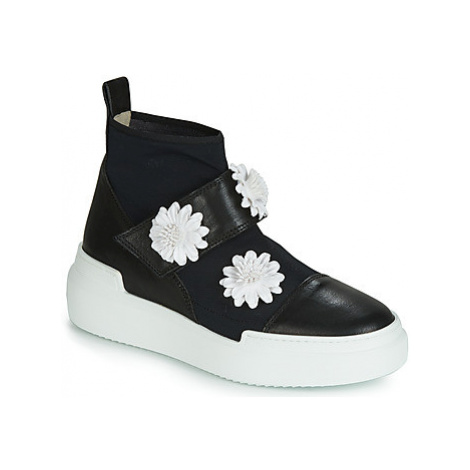 Fru.it 5380-948 women's Shoes (High-top Trainers) in Black