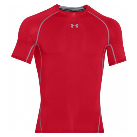 Under Armour ARMOUR HG SS T red - Men's short sleeve T-shirt