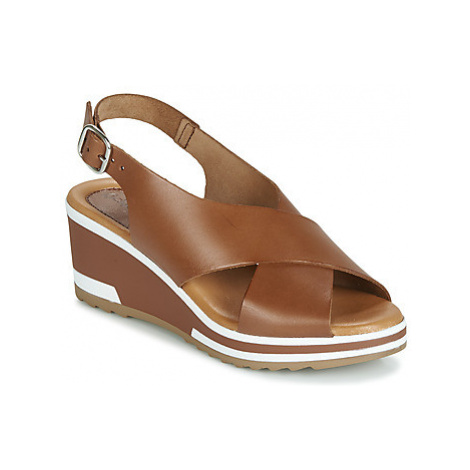 Kickers WING women's Sandals in Brown