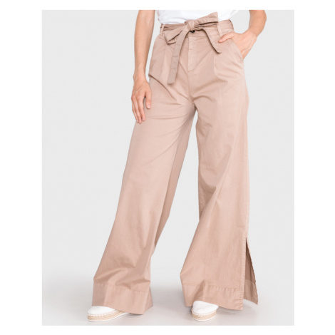 TWINSET Trousers Brown Beige