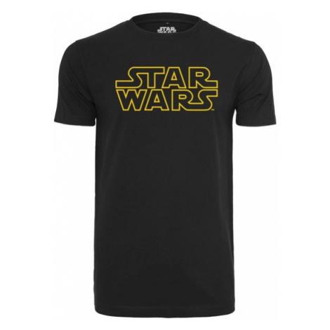Mr. Tee Star Wars Logo Tee black