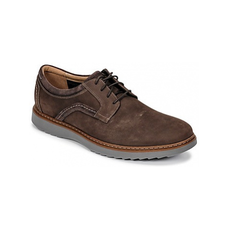 Clarks Un Geo Lace men's Casual Shoes in Brown