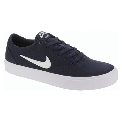shoes Nike SB Charge Canvas - Obsidian/White