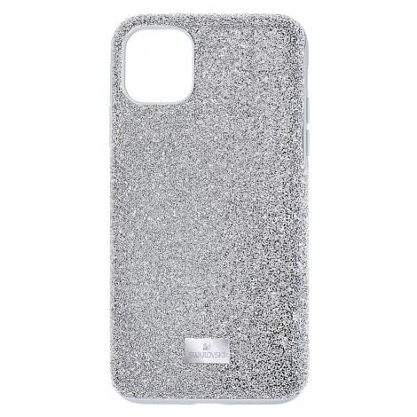 High Smartphone Case, iPhone® 11 Pro Max, Silver Tone Swarovski