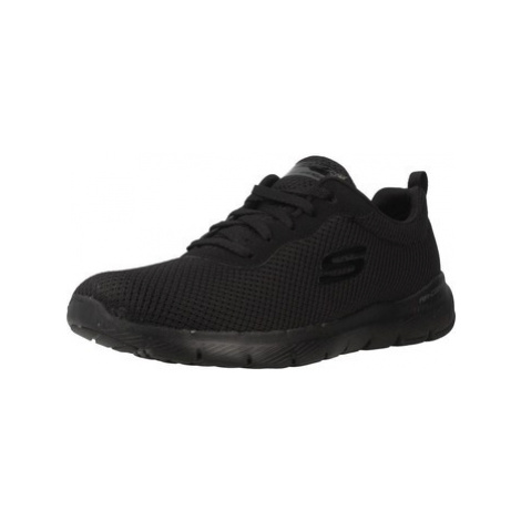 Skechers FLEX APPEAL 3.0 women's Shoes (Trainers) in Black