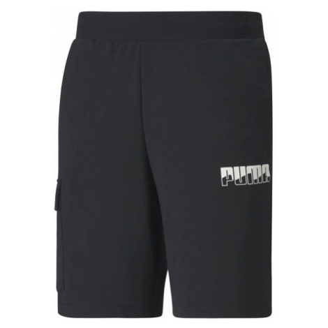 Puma REBEL BOLD SHORTS KAPSA black - Men's sports shorts