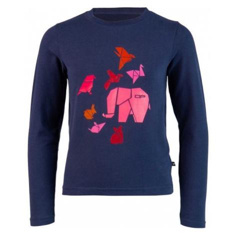 ALPINE PRO MILTO pink - Children's T-shirt