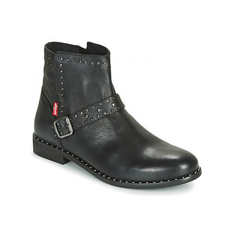 Levis TENEXY women's Mid Boots in Black Levi´s
