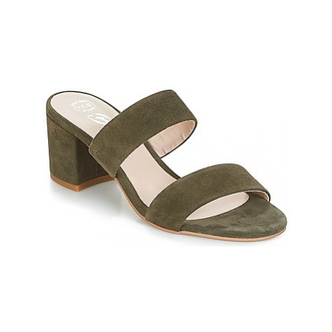 Betty London INALO women's Mules / Casual Shoes in Kaki