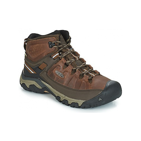 Keen TARGHEE III MID WP men's Walking Boots in Brown