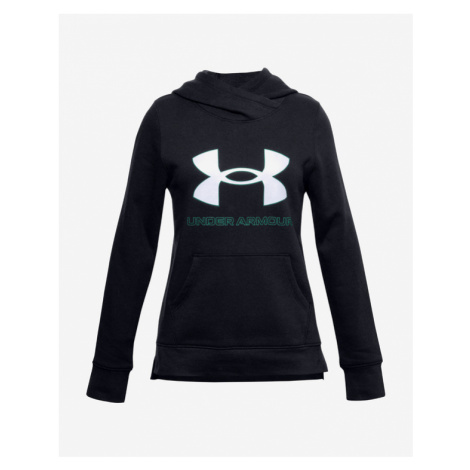 Under Armour Rival Fleece Logo Kids Sweatshirt Black