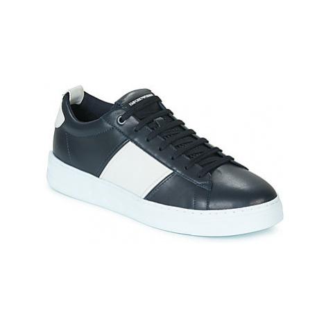 Emporio Armani X4X287-XM096-P421 men's Shoes (Trainers) in Black