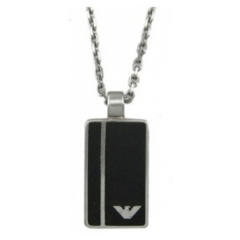 Mens Emporio Armani Stainless Steel Necklace