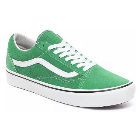 shoes Vans ComfyCush Old Skool - Suede/Fern Green/True White