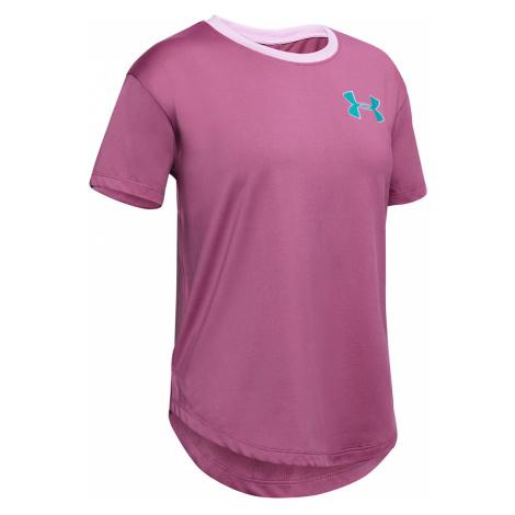 Under Armour HeatGear® Kids T-shirt Pink