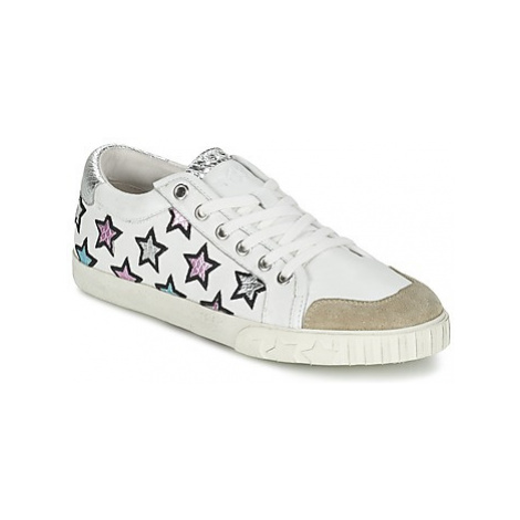 Ash MAJESTIC women's Shoes (Trainers) in White