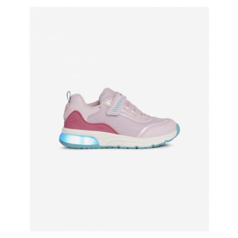 Geox Spaceclub Kids sneakers Pink Beige