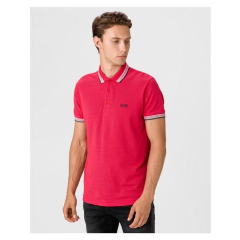 BOSS Paddy Polo Shirt Pink Hugo Boss
