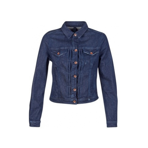Benetton FESCAR women's Denim jacket in Blue United Colors of Benetton