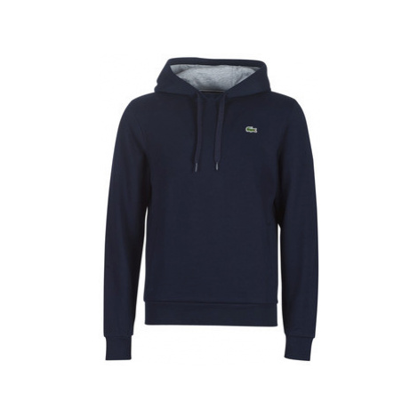 Lacoste SH2128 men's Sweatshirt in Blue