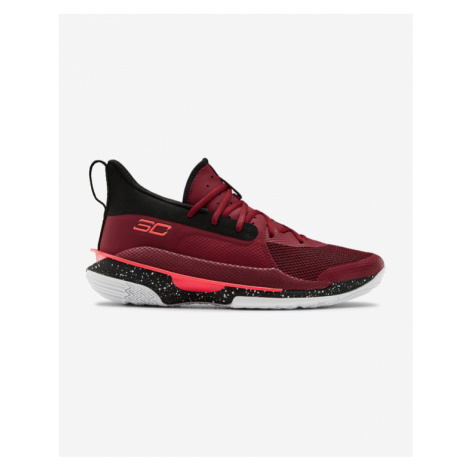 Under Armour Curry 7 Sneakers Red