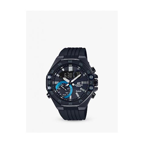 Casio ECB-10PB-1AEF Men's Casio Edifice Solar Powered Watch, Black
