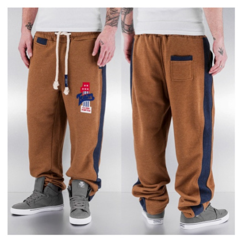 Just Rhyse And Friends Team Sweat Pants Camel