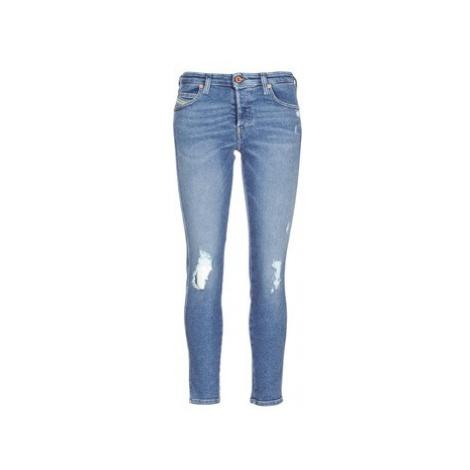 Diesel BABHILA women's Skinny Jeans in Blue