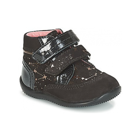 Kickers BILIANA girls's Children's Mid Boots in Black