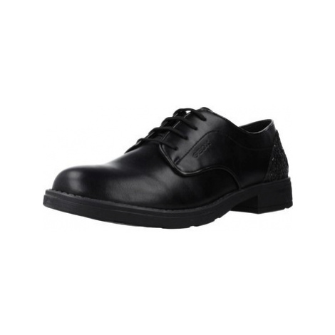 Geox JR SOFIA girls's Children's Casual Shoes in Black
