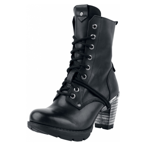New Rock - Trail Negro Tacon Acero - Boots - black