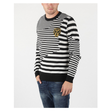 Diesel K-Stakx Sweater Black White