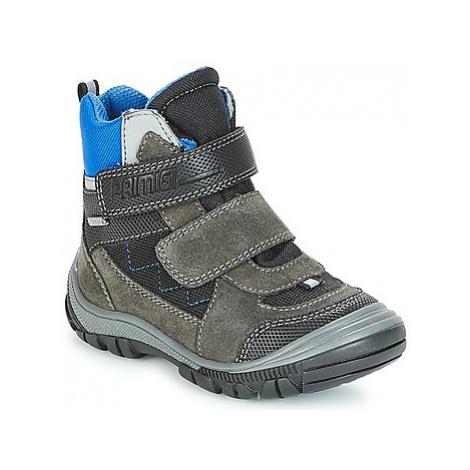 Grey boys' winter shoes