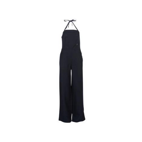 G-Star Raw BLAKE HALTER OVERALL women's Jumpsuit in Blue
