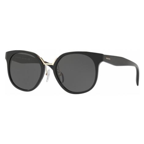Prada Woman PR 17TS - Frame color: Black, Lens color: Grey-Black, Size 53-20/140