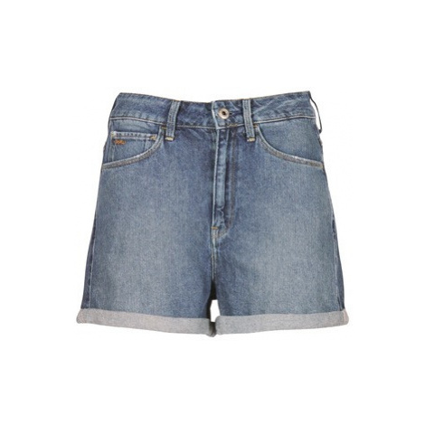G-Star Raw 3301 ULTRA HIGH SHORT women's Shorts in Blue