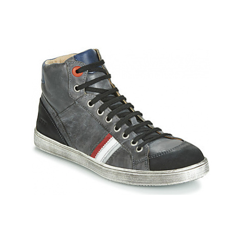 GBB ANGELO boys's Children's Shoes (High-top Trainers) in Grey