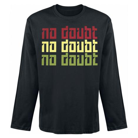 No Doubt - Tri Colour - Longsleeve - black