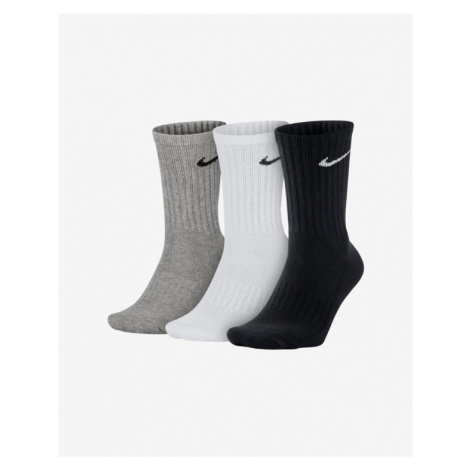Nike Set of 3 pairs of socks Black White Grey
