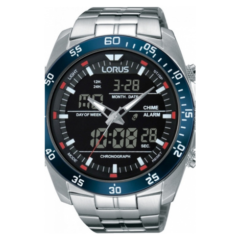 Mens Lorus Alarm Chronograph Watch RW623AX9